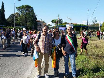 Delegazione fermana alla Marcia della Pace 2014