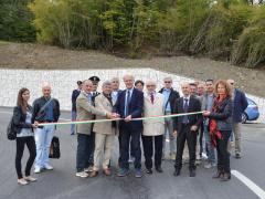 l'Amministrazione Provinciale di Ascoli Piceno ha inaugurato la variante alla S.P. n° 237 Picena (ex S.S. n° 78 Picena)
