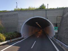 Imbocco galleria A-14 verso Porto San Giorgio