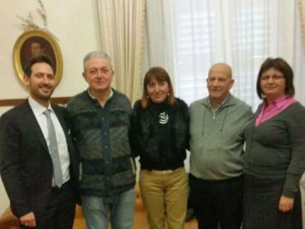 Incontro a Sant'Elpidio a Mare con il sindaco di Varpalota