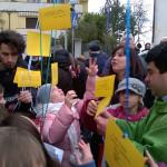 In marcia per la pace a Cascinare di Sant'Elpidio a Mare