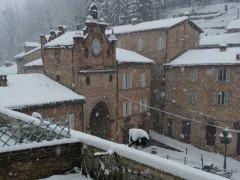 La neve ad Amandola
