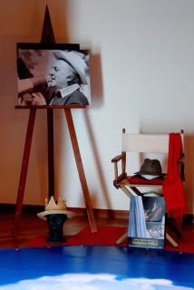 L'ultimo cappello di Federico Fellini, conservato a Montappone