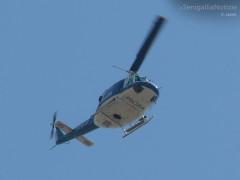 Elicottero della Polizia, controllo del territorio