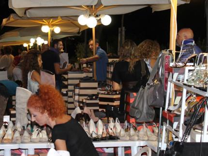 Monte Urano: mercato delle calzature