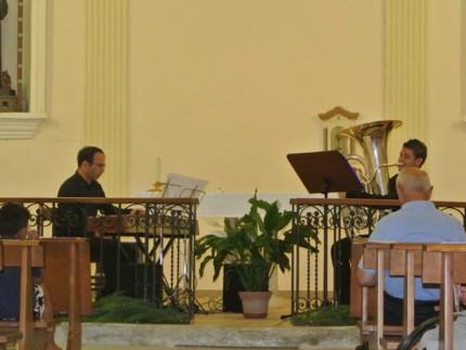Concerto per il duo tuba - pianoforte a Monteleone di Fermo