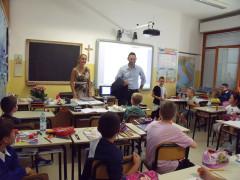 Terrenzi in visita alla scuola primaria di Sant'Elpidio a Mare