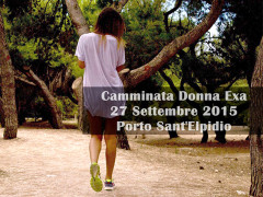 Camminata Donna Exa 2015 a Porto Sant'Elpidio