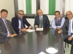 Firma convenzione Carifermo - Confidi del fermano
