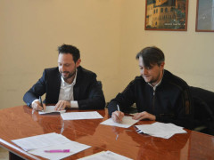 Variante PRG '95: firma dell'accordo tra Terrenzi e Perugini