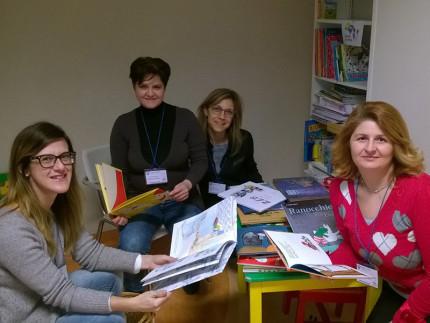 Lettrici volontarie all'ospedale di Fermo