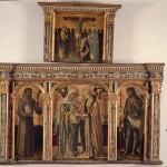 Visitazione della Vergine - trittico di Vittore Crivelli
