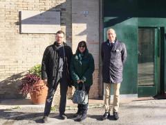 Delegazione regionale in visita al carcere di Fermo