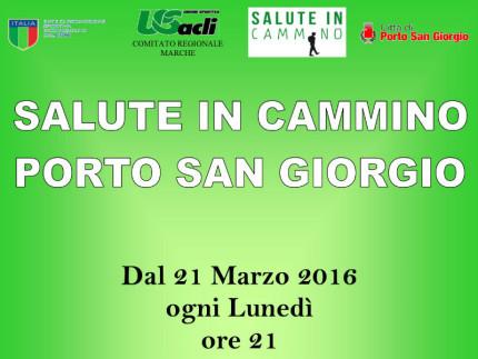 Salute in cammino - Porto San Giorgio