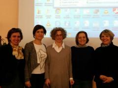 Le relatrici dell'incontro al Montani di Fermo