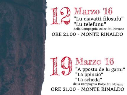 Cinema dialettale a Monte Rinaldo