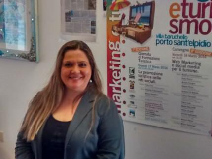 Milena Sebastiani presenta le giornate Marketing & Turismo 2016
