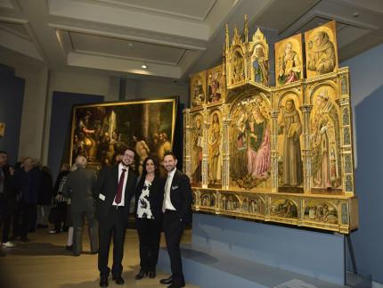 Il trittico del Crivelli alla mostra di Milano dopo il restauro