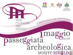 Passeggiata archeologica il primo maggio a Monte Rinaldo