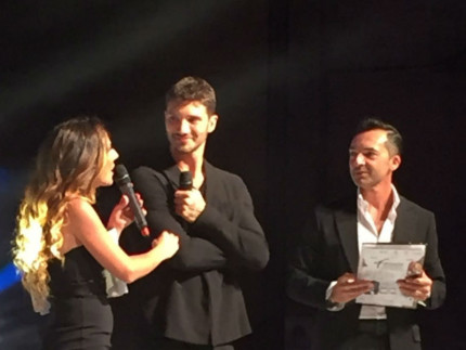 Stefano De Martino ospite a Fermano Fashion 2016