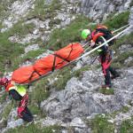 Soccorso alpino, intervento in montagna