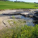 Erosione Fondo Agricolo in zona Ponzano