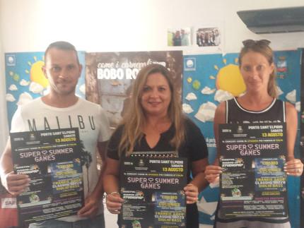Presentazione Super Summer Games a Porto Sant'Elpidio