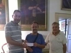 Donazione ARCI caccia Sant'Elpidio a Mare pro-terremotati