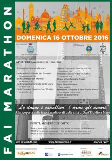 Fai Marathon 2016 a Sant'Elpidio a Mare - locandina