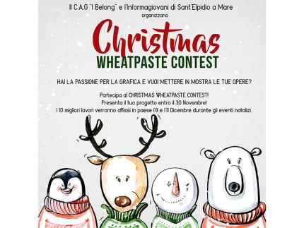 Christmas Wheatpaste Contest
