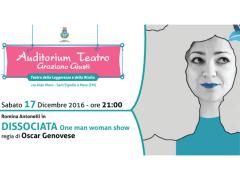 Dissociata. One woman show a Sant'Elpidio a Mare