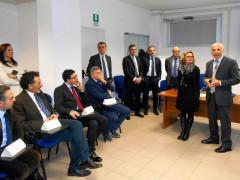 Rita Veroni ed Ernesto Cecarini incontrano i direttori degli uffici postali del Fermano
