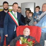 Festa per i cento anni di Francesco Mancini a Sant'Elpidio a Mare