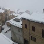 Neve a Monte Vidon Combatte