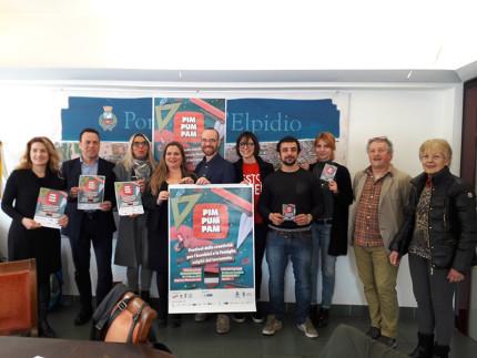 Presentazione festival Pim Pum Pam a Porto Sant'Elpidio