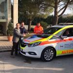 Donazione auto medica alla Croce Azzurra di Monte Urano e Sant'Elpidio a Mare