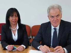 Jessica Marcozzi e Piero Celani