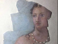 Affresco di epoca romana restaurato a Fermo