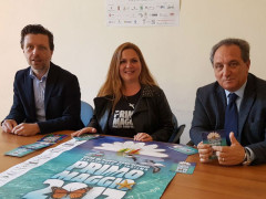 Milena Sebastiani a Foligno ha incontrato il Sindaco Nando Mismetti e l'Assessore al Turismo Giovanni Patriarchi