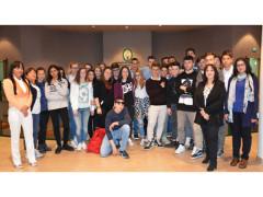 Studenti dell'ITC di Amandola in visita alla Regione Marche