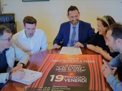 Annuncio riapertura Teatro Cicconi di Sant'Elpidio a Mare