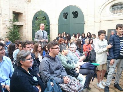 Consegna diplomi Apprendisti Ciceroni a Fermo