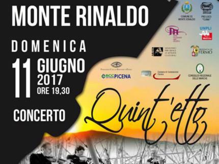 Concerto domenica 11 giugno all'Area Archeologica La Cuma di Monte Rinaldo