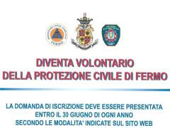 Protezione Civile Fermo - iscrizioni Volontari 2017