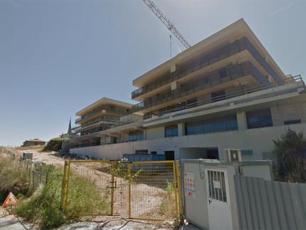 Edificio in costruzione in via Respighi a Fermo