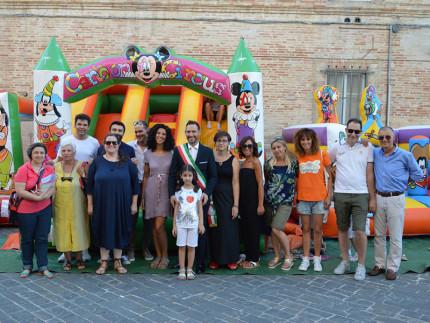 Giochi gonfiabili a Sant'Elpidio a Mare