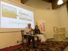 Piero Badaloni a Smerillo per il festival Le Parole della Montagna
