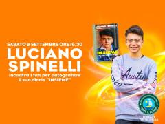 Luciano Spinelli al Centro Commerciale Auchan Porto Sant'Elpidio