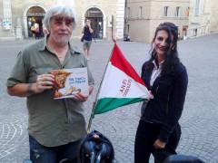 Lo scrittore Gino Marchitelli e Barissani
