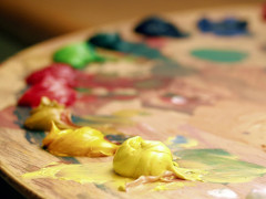 Pittura, arte, colori, dipingere